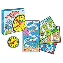 What Time is It? Board Game, Grades K to 2, Sold as 1 Each