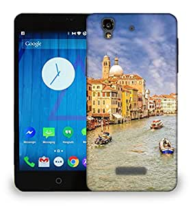 Snoogg Dirty Water Printed Protective Phone Back Case Cover For Micromax Yu Yureka