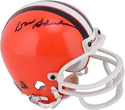 Don Shula Cleveland Browns Autographed Mini Helmet - Fanatics Authentic Certified - Autographed NFL Mini Helmets
