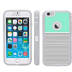 iPhone 6s Plus Case,FEIKESI [Extreme Protection] Tough Dual Layer Armor Defender [Drop Protection][Heavy Duty][Shock Proof] Cover for Apple iPhone 6 Plus and iPhone 6S Plus 5.5