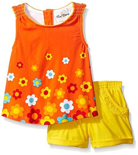 rare-editions-girls-little-girls-flower-printed-short-set-dress-coral-yellow-3t
