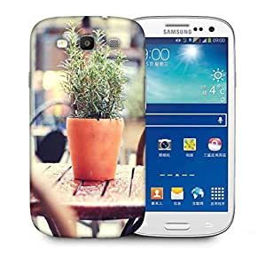 Snoogg Small Plant Printed Protective Phone Back Case Cover For Samsung S3 / S III