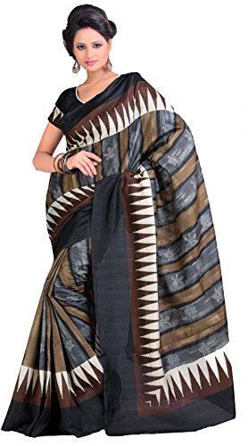 Samskruti Sarees Women Exclusive Temple Border Raw Silk Saree for Women (5133)