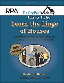 Learn The Lingo Of Houses (2015 Paperback Version)