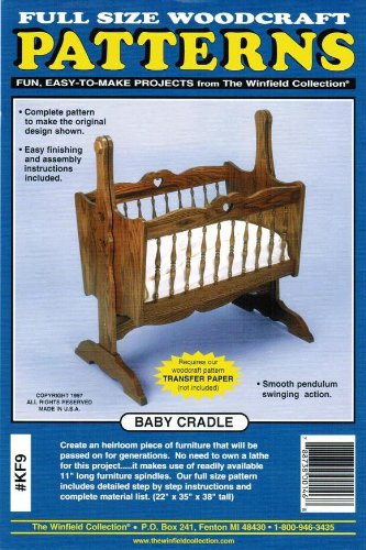 Baby Cradle Woodworking Pattern
