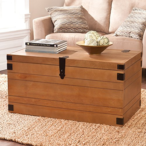 "Wildon Homes Coffee table Chest 19.5"" H x 38"" W x 21.75"" D Target ikea foosball restaurant poker pingpong game"
