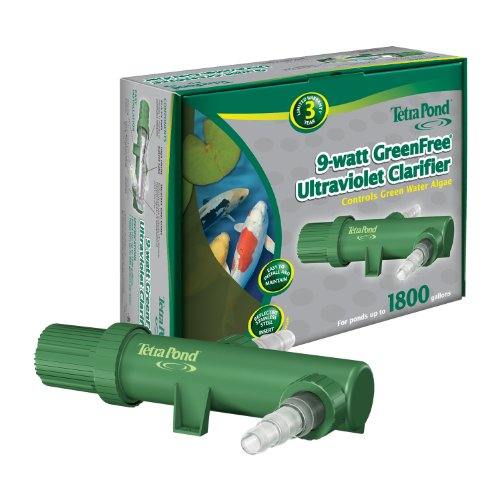 Tetra Pond GreenFree Clarifier UV1, 9 Watts, Ponds up to 1800 Gallons