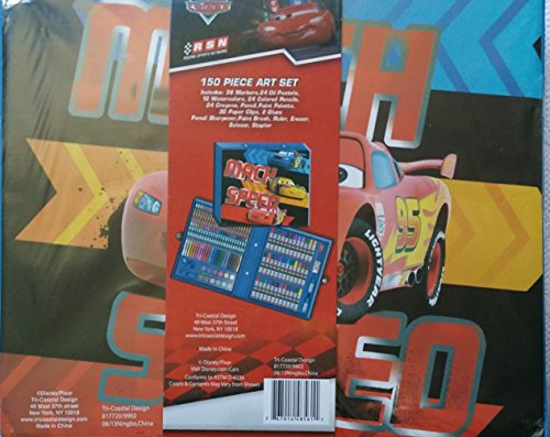 Disney Pixar Mach Speed Art Set 150 pieces