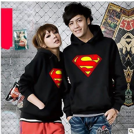 superman スーパーマン パーカー ファション カップルパーカー