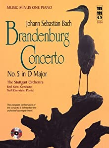 Brandenburg Concerto No. 5, Piano [With CD (Audio)] (Music Minus One (Numbered)) from Hal Leonard Publishing Corporation