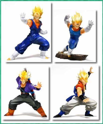 dragon-ball-z-sectional-action-pose-figure-2nd-full-set-of-4-japan-import
