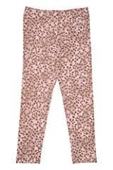 Kate Mack Girl's 7-16 Cheetah Charm Legging