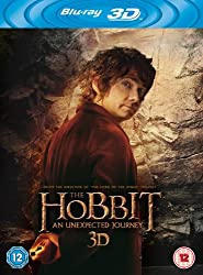 The Hobbit: An Unexpected Journey [Blu-ray 3D + Blu-ray + UV Copy][Region Free]