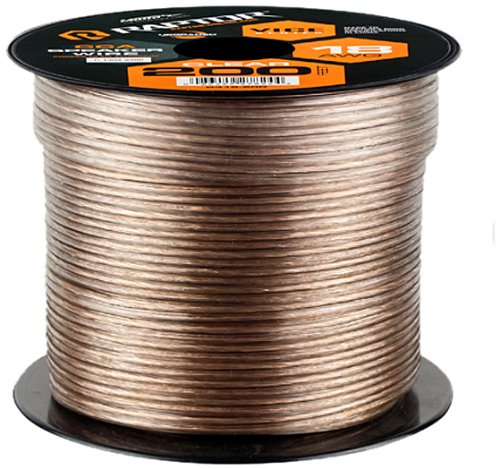 Raptor R318-200 18-Gauge 200-Feet Vice Series Copper Clad Aluminum Construction Speaker Wire