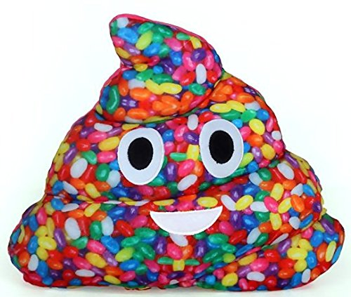 Emojicon Jelly Bean Scented Poop Pillow (Rainbow Jelly compare prices)