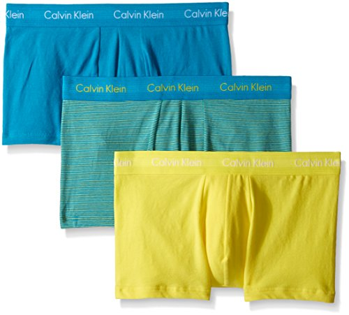 Calvin Klein Men's 3Pack CottonStretch LowRise Boxer Briefs