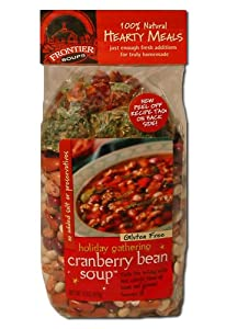 Frontier Soups Hearty Meals Holiday Sausage And Bean Soup, 15-Ounce Bags (Pack of 4)