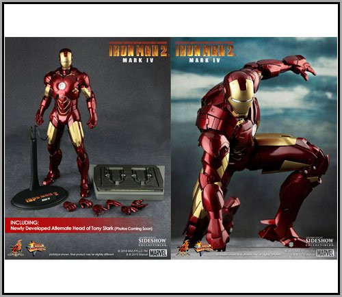 Hot Toys Movie Iron Man 2 Iron Man Mark IV 12 Figure