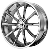 Lorenzo WL032 20x9.5 Chrome Wheel / Rim 5x112 with a 40mm Offset and a 72.60 Hub Bore. Partnumber WL03229556240