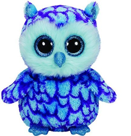Ty Beanie Boo 6' Oscar The Blue Owl