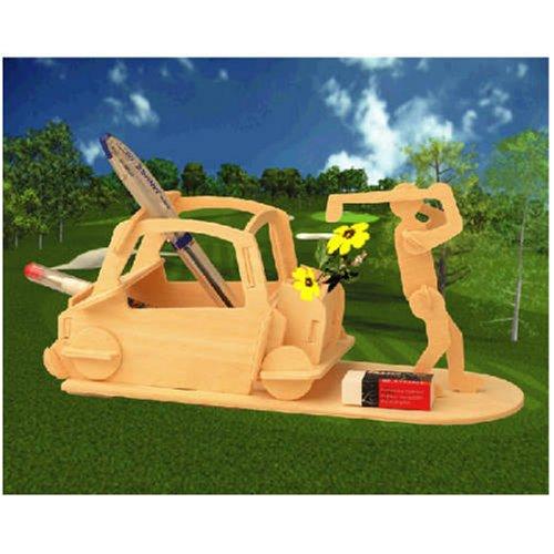 Golf Pen Holder 3D Woodcraft Construction Kit - Buy Golf Pen Holder 3D Woodcraft Construction Kit - Purchase Golf Pen Holder 3D Woodcraft Construction Kit (Puzzled by Creative Ventures, Toys & Games,Categories,Construction Blocks & Models,Construction & Models,Buildings & Bridges)