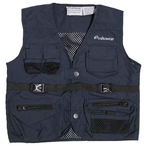 Explorer Vest, Navy Blue Med, 7-11