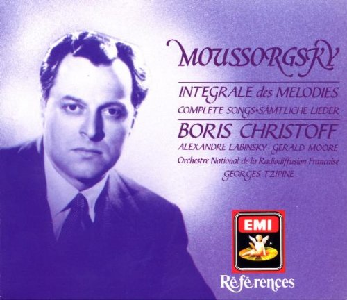 Mussorgsky Integrale des Melodies Complete Songs