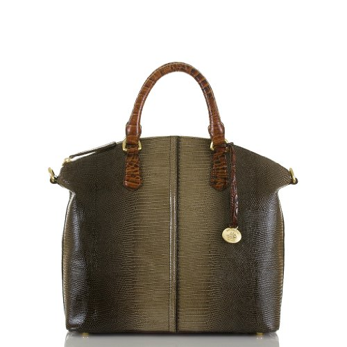 Large Duxbury Satchel<br>Pennfield Grey