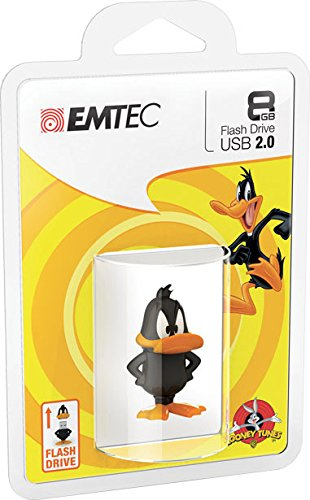 emtec-looney-tunes-daffy-duck-l105-memoria-8-gb-usb-20-nero