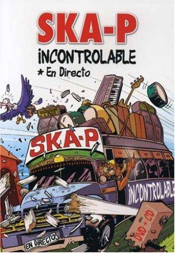 SKA-P : INCONTROLABLE (LIVE + CD BONUS) (IMPORT) (DVD)