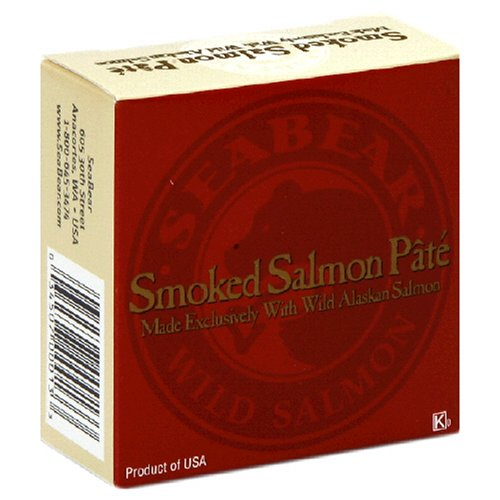 Buy SeaBear Smoked Salmon Pate Can, 3.5-Ounce Units   (Pack of 4)