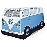 1965 VW Camper Van Kids Pop-Up Play Tent (Blue)