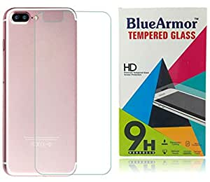 BlueArmor HD Clear BACK Tempered Glass Screen Guard Protector for Apple Iphone 7 Plus