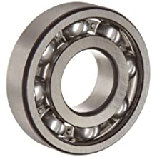 FAG Medium 6300 Series Deep Groove Ball Bearing, Single Row, Sheet Steel Cage, C3 Clearance, Metric