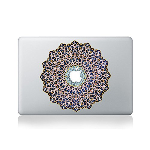 Arabic Mandala Aufkleber fur Macbook