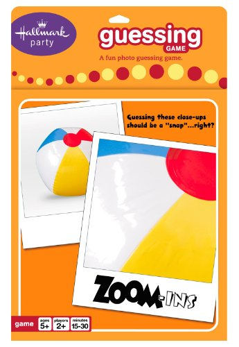 Zoom-Ins Guessing Card Game Party Accessory