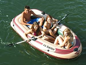 Voyager 4 Person Inflatable Fishing Boat