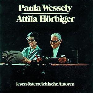 Paula Wessely und Attila Hörbiger lesen österreichische Autoren Hörbuch