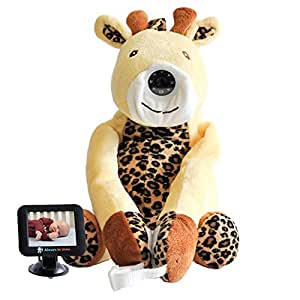 "Infanttech Always-in-View 3.5"" Video Baby Monitor (Giraffe) -The Baby Monitor for Home, Cars, and On the Go"