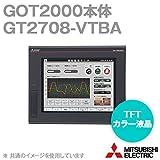 三菱電機 GT2708-VTBA GOT2000 GOT本体 (8.4型) (解像度 640×480) (AC100-240V) (パネル色:黒) NN