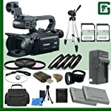 Canon XA20 Professional Camcorder + 32GB + 64GB Green's Camera Bundle 3