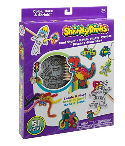 Shrinky Dinks Cool Stuff Activity Set (Robot Turtle Game compare prices)