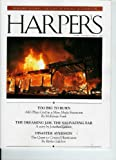 HARPERS MAGAZINE October 2009 Too Big To Burn: AIG Plays God in a Man-Made Firestorm Plus Bernard Avishai: The Cost of Israeli Occupation; Jonathan Lethem & Rivka Galchen (Singl