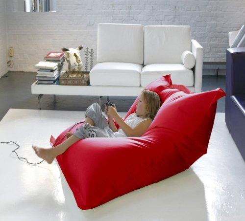 Bigdean luxus riesensitzsack baumwolle 1 4 x 1 8 m indoor for Wohnlandschaft 3 meter