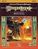 The World of Krynn, Dl16 (Advanced Dungeons & Dragons Dragonlance Accessory) (0880386096) by Niles, Douglas