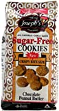 51OOvcj4LWL. SL160  Josephs Lite Cookies Sugar Free Chocolate Peanut Butter Cookies, 11 oz bags