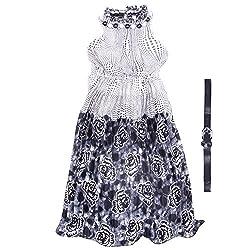 Yashasvi Girl's Beads embellish Cotton Dress
