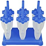 Tovolo Blue Rocket Pops - Set of 6