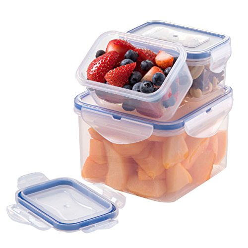 Set of 3 Bento Box Container Leak Proof Insulated Food Storage