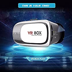 cellphoneage 2nd Gen 3D VR Virtual Reality Glasses Headset With Head-Mounted For iPhone Samsung LG HTC Support 3.